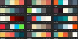 great color palettes picking color schemes for craft projects or for web