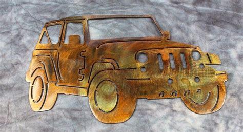 jeep metal art jeep metal wall art decor wall sculptures