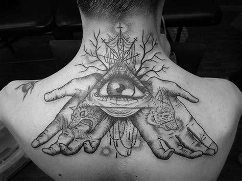 illuminati tattoo on neck illuminati tattoo neck tattoo back tattoo tattoo