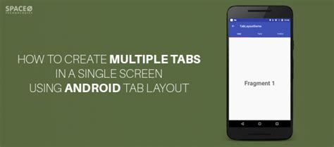 tab layout in android exle how to create multiple tabs in a single screen using