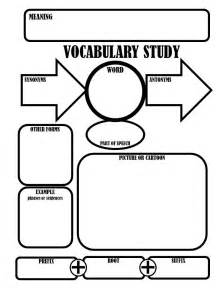 vocabulary graphic organizer templates tips tricks teaching elementary middle school