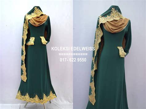 Baju Hijau Emerald Tudung Warna Turkois koleksi edelweiss baju pengantin baju nikah dan tunang muslimah terkini preorder 12 warna