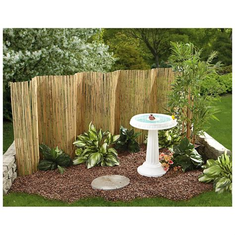 Bamboo Patio by Bamboo Reed Garden Fence Images