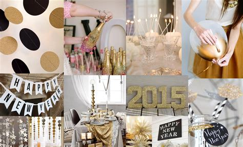 New Year S Decorations by Decor Gold And Sparkly New Year S Inspiration