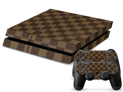 Ps4 Aufkleber Gucci by Louis Vuitton Playstation 4 Skin