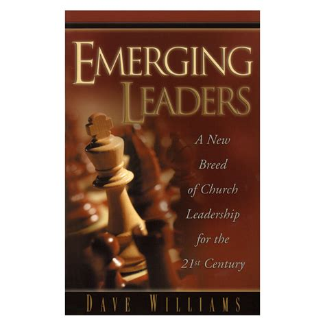 emerging books emerging leaders book dave williams ministries