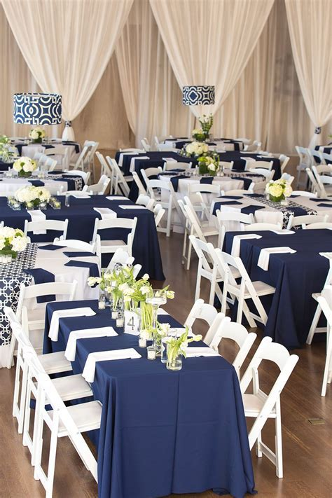 Modern Museum Wedding In Navy and White   Venues For