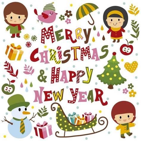 Merry And Happy New Year merry and happy new year clip artegami