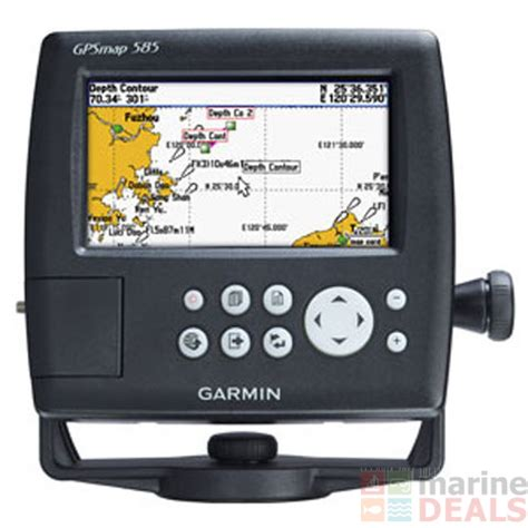 Gps Tracker Garmin Fishfinder 585 buy garmin gps map 585 chartplotter fishfinder with 50
