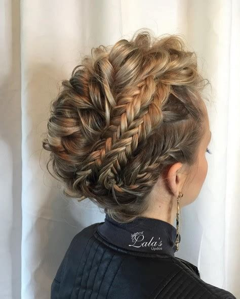 hairstyles for medium length hair plaits 27 super trendy updo ideas for medium length hair