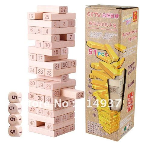 Mainan Wooden Uno Stacko excellent quality exported toys danni wooden building
