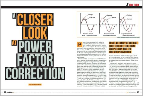power factor correction national grid charged evs a closer look at power factor correction