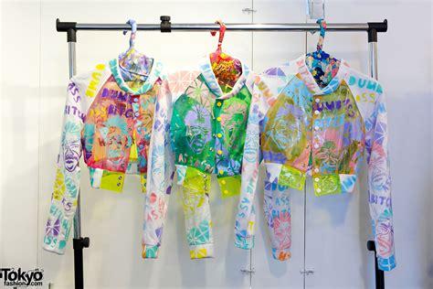 spray painting clothes hibi orleans chimerical three new japanese fashion