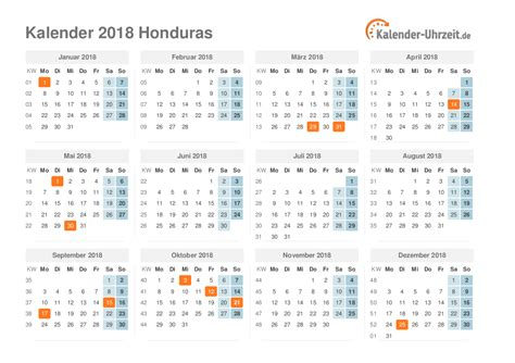Honduras Calend 2018 Honduras Kalendar 2018 28 Images Calendar 2017 2018
