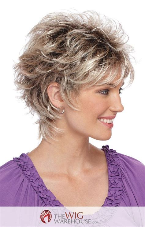 short layered hair styles with soft waves the spunky christa by estetica designs features a short