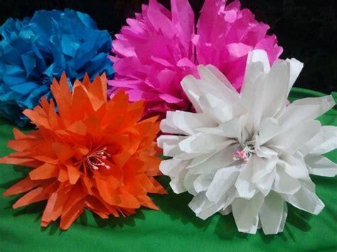 nh fiori simple fiori di carta with fiori con tovaglioli di carta