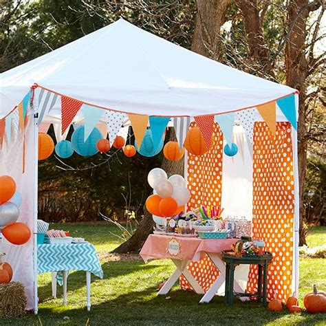 Circus Tent Decorations by 25 Unique Shade Tent Ideas On Sun Shade Tent