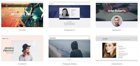 The Best Portfolio Website Builders Wix Portfolio Templates