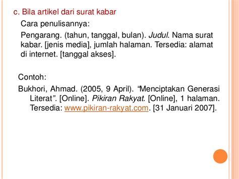 penulisan daftar pustaka nama dibalik penulisan daftar pustaka