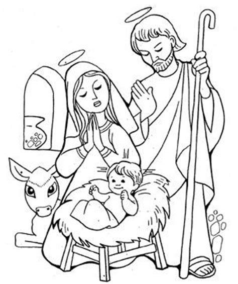 imagenes de nacimientos navideños para colorear y recortar dibujos del nacimiento de jesus para colorear