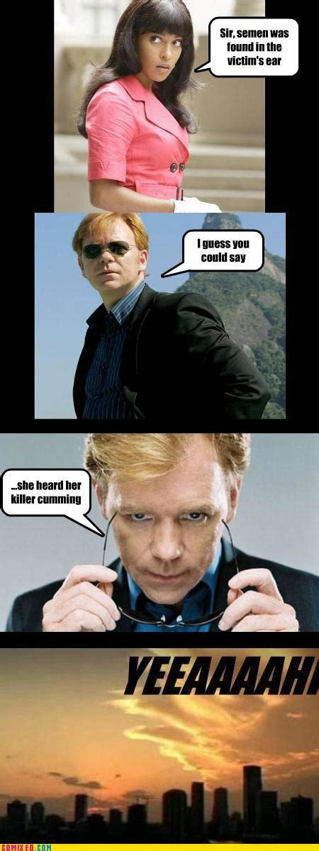 Horatio Caine Meme - funny puns one liners memes
