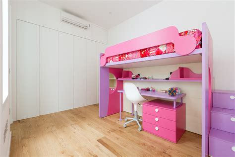 Bunk Beds With Built In Stairs Impressive Bunk Bed With Stairs In Contemporary With Wardrobe Built In Next
