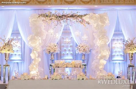 decoration and design wedluxe all white wedding decor and floral from event