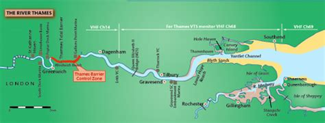 river thames source to mouth map pilotage tackling the thames tideway classic boat magazine