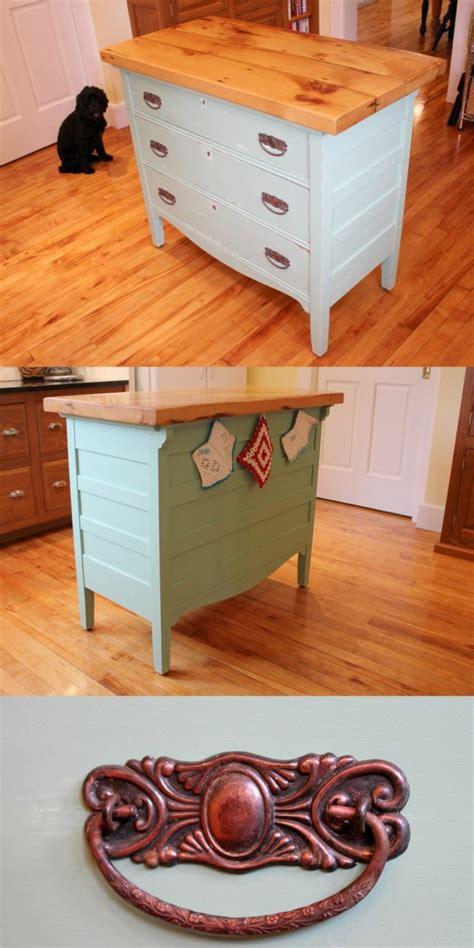 küchenblock mit schubladen die alte kommode als k 252 chenblock verwenden diy projekt