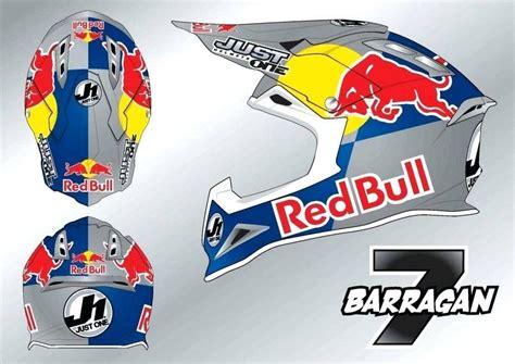 Helm Sticker Red Bull by Red Bull Sticker For Helmet Satu Sticker