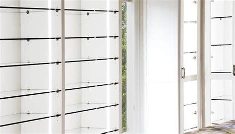 Glass Closet Shelves by Dressing Room With Custom Closet Lighting Options And
