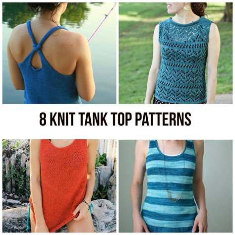 knit a tank top knit tank top patterns for summer