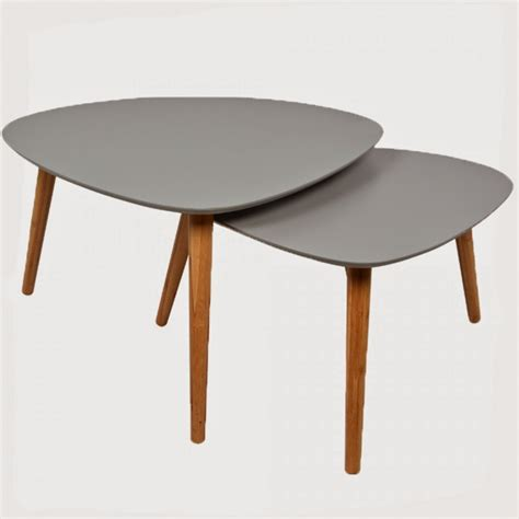 Table Basse Ronde Gigogne 1576 by Les Tables Basses Gigognes Caract 233 Rielle