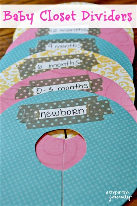 How To Make Baby Closet Dividers how to make baby closet dividers