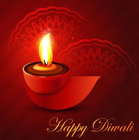 diwali card templates free vector happy diwali greeting card template free