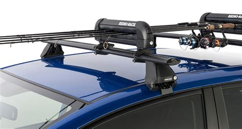 Roof Rack For Fishing Rods by Ski Carrier And Fishing Rod Holder Holds 3 Skis Or 2