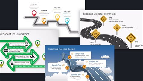 road map powerpoint template free free project roadmap powerpoint templates free roadmap