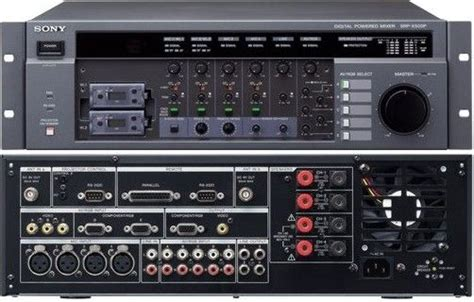 Power Lifier Digital Stereo Echo Mixing 4 Imput Mic 150wattx2 sony srp x500p digital powered mixer built in 4ch digital power lifier 5 x 1 av switcher