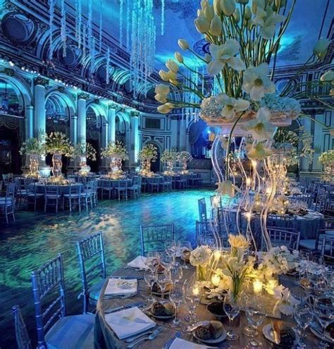 beautiful winter wedding color themes nytexas under the sea wedding theme me love undersea