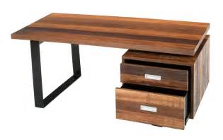 wood office desk wood desk bowry reclaimed wood desk abco and balt rustic