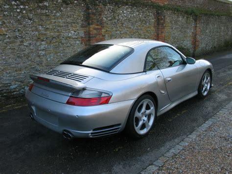 Porsche 996 911 Turbo Cabriolet 6 Speed Surrey Near
