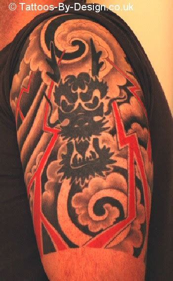japanese dragon tattoo half sleeve designs japanese half sleeve