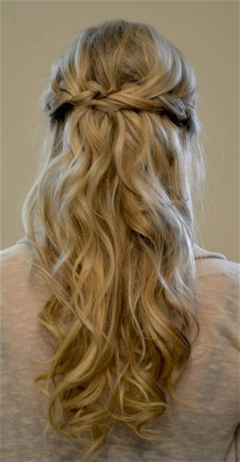 hairstyles for plaited extensions simple braided prom half updo hairstyle for long hair
