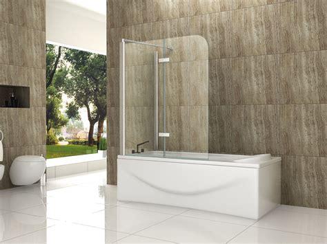 eck duschtüren glas 70 120 x 140 eck badewannen faltwand aufsatz duschwand