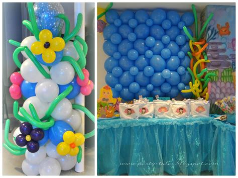 the sea theme decorations tales birthday the sea birthday