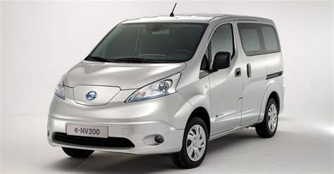nissan prices the e nv200 electric from 163 13 393 in the uk