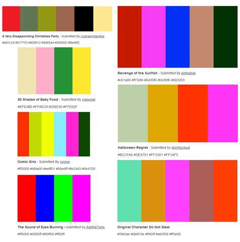 Ugliest Color Combinations | color me curious photo color inspiration pinterest color inspiration
