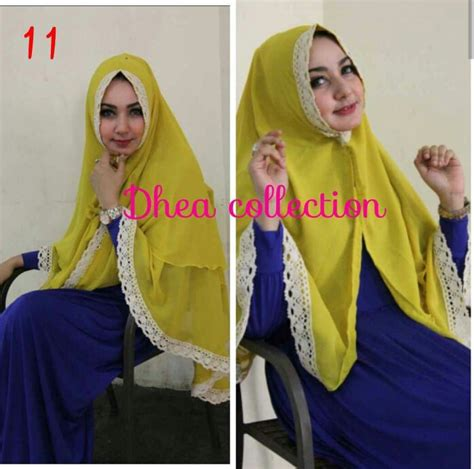 Khimar Dhea Collection khimar konara by dhea pusat grosir jilbab modern