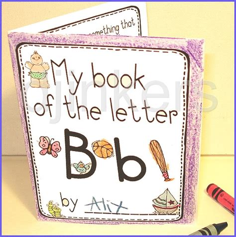 Letter Book 5 Best Images Of My Letter Book Printable Preschool Letter Books Printable Mini Letter Books