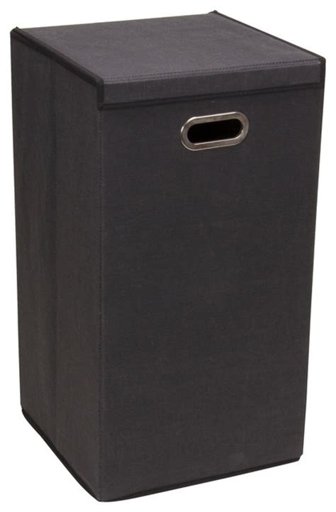 black laundry with lid shop houzz collapsible laundry her with lid black hers